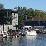 Landings of Saugatuck Inn and Marina
